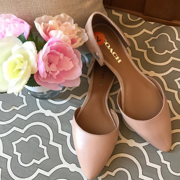 Coach Shoes | Coach Pointed Toe Flats